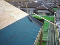 引き続き屋根です